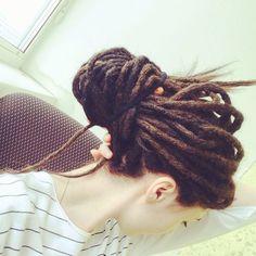 #dreadlocks #dreads #dreadgirls #locs #dreadhead #hairstyle #nature #tattoo #hairstyles
