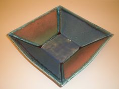 """""""Slab built serving bowl"""" by Mary Williams, clay #Art #Ceramics"""