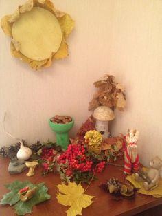 Столик Времен года Сентябрь праздник урожая