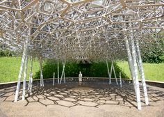 Wolfgang Buttress' Expo pavilion relocates to Kew Gardens
