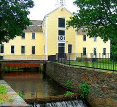Slater Mill, Blackston River, Pawtucket, RI