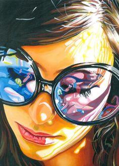 """Violet"" - Art Print by Steve Smith"