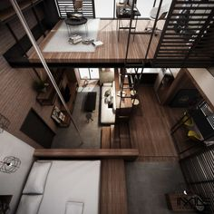 KOTAK Haus, The Compact Living Space (Conceptual) by Anwar Al Jufrey , via Behance