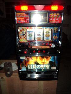 NOBUNGA NO YABA VIDEO & REEL Pachislo Slot Machine & 190 Page Manual