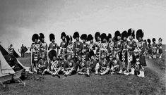 The 93rd Sutherland Highlanders - Group of Crimean War Veterans c1870's