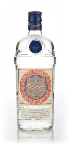 Tanqueray Old Tom Gin - Old recipe, a nice sweet gin