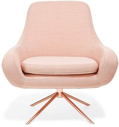 Softline Swivel Curved Chair Apricot