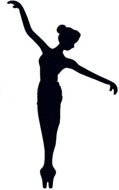 Ballerina Silhouette, Silhouette Clip Art, Camping Crafts, Fun Crafts, Crafts For Kids, Ballerina Kunst, Ballerina Ornaments, Ballet Drawings, Arte Quilling