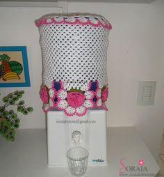 forros crochet para tambos de agua - Buscar con Google