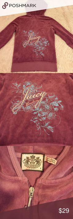 Juicy Couture Zip Up Juicy Couture Zip Up Juicy Couture Tops Sweatshirts & Hoodies