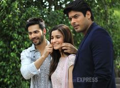 Alia Bhatt, Varun Dhawan and Siddharth Shukla in the capital to promote 'Humpty Sharma Ki Dulhania' #Style #Bollywood #Fashion #Beauty