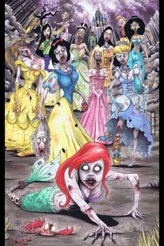 Princesas Zombies!!