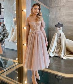 Evening Dresses Online, Evening Dresses For Weddings, A Line Prom Dresses, Tulle Prom Dress, Short Tulle Dress, Homecoming Dresses Corset, Wedding Dress Midi, Short Corset Dress, Corset Dresses