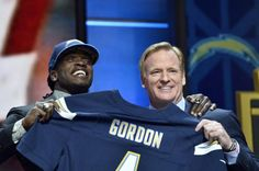 Wisconsin running back Melvin Gordon was one of the biggest winners of the 2015 NFL Draft, being chosen #15 overall by the San Diego Chargers