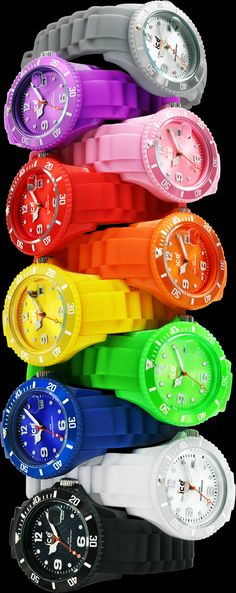 Check out our HOT new line of watches, the Ice Watch.