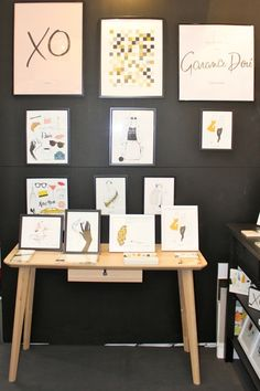 Garance Dore for Rifle Paper Co. Art Prints available at Northlight Homestore Rifle Paper Co, At Home Store, Papers Co, Office Desk, Gallery Wall, Art Prints, Frame, Furniture, Home Decor