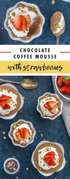 Treat yourself to a delicious dessert that happens to feature your most favorite flavor of all—coffee! This recipe for Chocolate Coffee Mousse with Strawberries uses Folgers® Black Silk K-Cup® Pods, making this creation truly tasty. Late-night snack or midday pick-me-up, enjoy this recipe whenever you like by picking up everything you'll need from ShopRite.