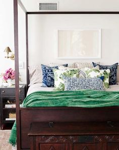 Love This Bedding Emerald Bedroom Green Master Blue And