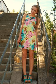 Colorful #wedding #guest #dress