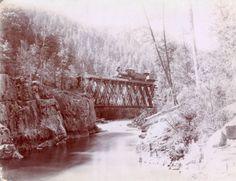 Animas River Colorado  between 1880 and 1886