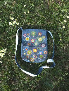 m29m / pestr� RECYKLOVAN� ta�ka Denim Bag, Fashion Backpack, Backpacks, Handmade, Bags, Hand Made, Purses, Totes, Backpack