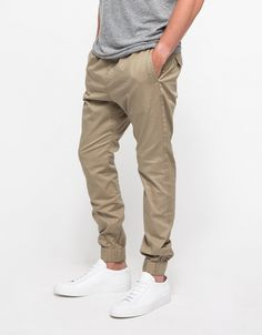 Dropshot Pant in Tan