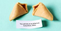OK Cookie  Horrible fortune cookies from Cards Against Humanity
