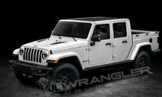 Jeep Wrangler: la variante pick-up sarà denominata Scrambler?