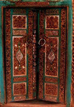 ancient door in India