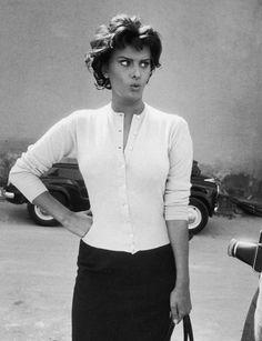 Sophia Loren by Loomis Dean for LIFE Magazine, 1957