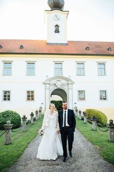 Enchanting Austrian Wedding in a castle