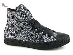 Converse , Baskets pour femme argent argent * - argent - Black Jewels Glitter, 37 EU EU - Chaussures converse (*Partner-Link)