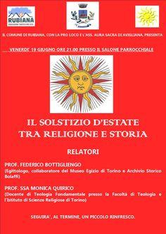 Il Solstizio d'estate tra religione e storia - Rubiana