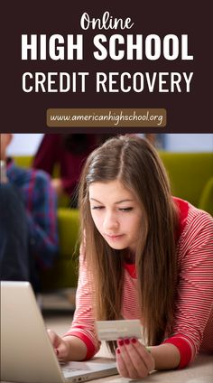 Get on track to graduate! American High School offers online credit recovery courses. Enjoy your summer and retake courses at the same time! We make it easy and affordable. #creditrecovery School Routine For Teens, School Routines, School Hacks, Online Middle School, High School Credits, Course Catalog, American High School, High School Diploma, College Courses