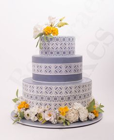 Daily Wedding Cake Inspiration from Ron Ben-Israel Cakes. To see more: http://www.modwedding.com/2014/08/14/daily-wedding-cake-inspiration-7/ #wedding #weddings #wedding_cake