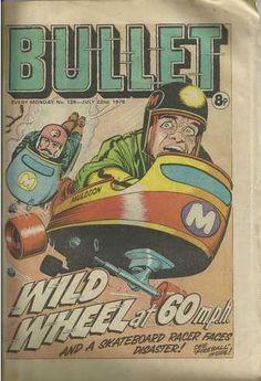 Bullet #128 (Issue) Vintage Comic Books, Vintage Comics, Bullet, Art, Art Background, Kunst, Performing Arts, Art Education Resources, Artworks