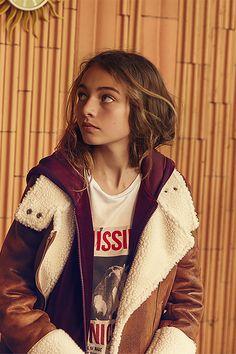 Look ado WAY : manteau pour fille