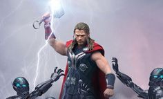 Share this with your friends and receive a $15 promo code. Click here to write your message. Marvel Thor Sixth Scale Figure