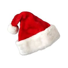 Deluxe Santa Hat Velveteen with White Faux Fur Trim Pkg1 by PMU Toys  Games -- Be sure to check out this awesome product. Note:It is Affiliate Link to Amazon.