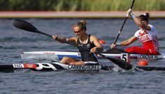 New Zealand take first women's canoe gold   Olympics 2012 Lisa Carrington!   single #kayak 200m