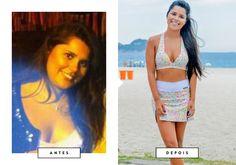Blogueira perde 25kg em 1 ano com exercícios feitos em casa