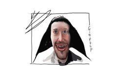 Daniele doesn't matter disegnato partendo da un vampio  https://www.youtube.com/watch?v=R4OTqqJQNTo