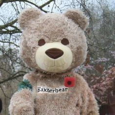 I'm the most positive bear in the world! www.baxterbear.com