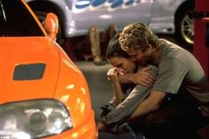 Still of Jordana Brewster and Paul Walker in The Fast and the Furious