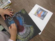 The Art Room at The Falcon Academy of Creative Arts: 5th grade art