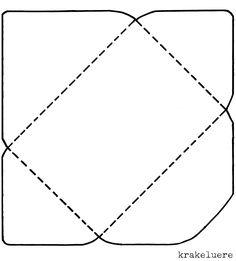 Umschlag Falten So Geht S Papirmunkak Origami Envelope