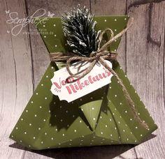 Adventskalender 2017 – Nikolaussäckchen, Origami, Verpackung, Stampin' Up!, scraphexe.de