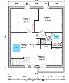 Photo maison en bois plan de maison en l plain pied for Plan maison 120m2