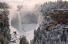 Helmecken Falls in Wells Grey Provincial Park.  Clearwater, British Columbia, Canada