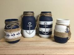 Nice nautical glasses for bathrooms or just for decoration . - Nice nautical glasses for bathrooms or just for decoration …, dec - Diy Bathroom, Nautical Bathrooms, Bathroom Ideas, Nautical Theme Bathroom, Wedding Bathroom, Bathrooms Decor, Bohemian Bathroom, Decorating Bathrooms, Dream Bathrooms